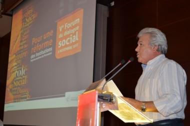 Vème Forum du dialogue social