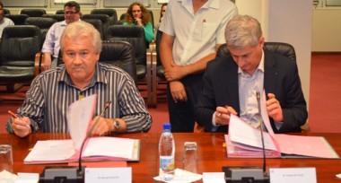 Signature de conventions  GNC - IEOM -Vale Nouvelle-Calédonie - KNS