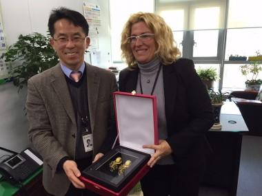 Le gouvernement prépare l'export de squashs en Corée du Sud