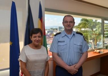 Le N°2 de la gendarmerie nationale au gouvernement