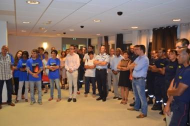 Le Gouvernement honore les personnels qui sont intervenus à Tanna.