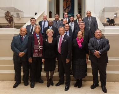 Philippe Germain invité au Forum des Iles du Pacifique