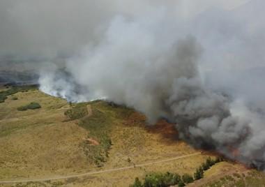 La Calédonie à l'épreuve des feux