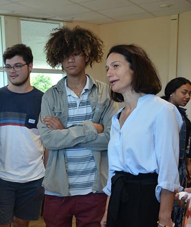 Isabelle Champmoreau s'est intéressée aux ateliers conçus et animés par des élèves et des enseignants.