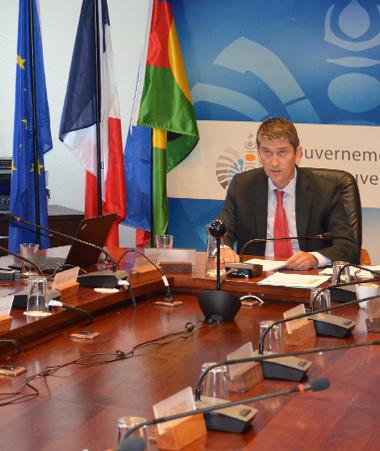 La Nouvelle-Calédonie a partagé son souhait de « réunir la famille européenne autour d'objectifs économiques communs ».