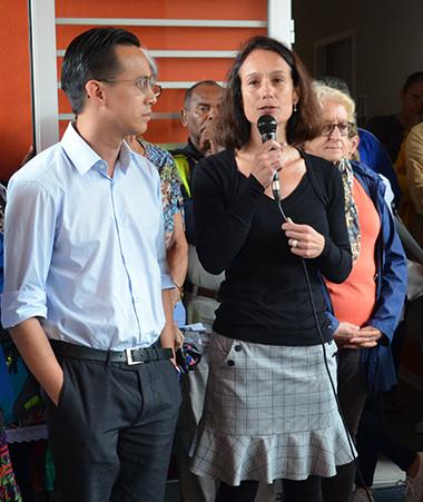 Isabelle Champmoreau, membre du gouvernement en charge du handicap, a participé le 29 septembre à l'inauguration du nouvel espace du service d'accueil de jour de l'APEH-NC.