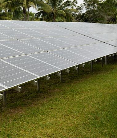 Ouvéa, à l'instar de Lifou, sera bientôt équipée de deux stations photovoltaïques