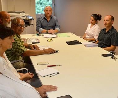 La cellule de coordination du BTP s'est réunie au gouvernement, vendredi 3 mars.