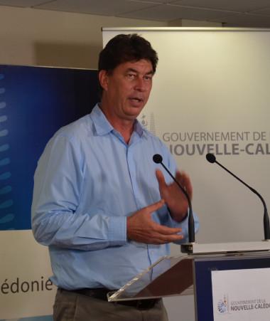 Le président du gouvernement Thierry Santa s'est adressé aux Calédoniens le 28 mai.