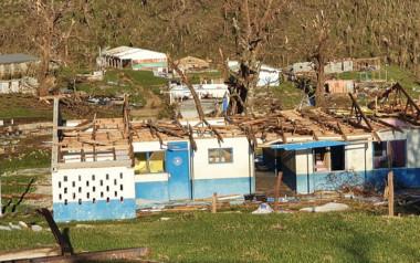 Le cyclone Harold a touché l'île de Pentecost le 6 avril, quelques heures après Espiritu Santo.