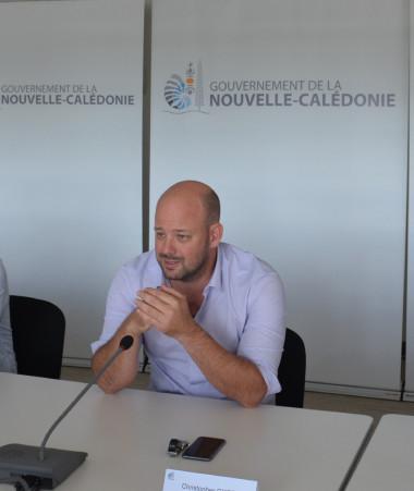 Christopher Gygès, entouré des présidents de la CMA, de la CCI et de la Chambre d'agriculture, a présenté le 23 juillet au gouvernement le Grand Débat post Covid-19.