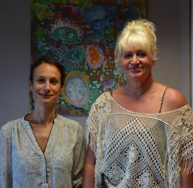 Isabelle Champmoreau et Christiane Tétu Wolff