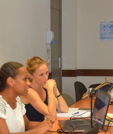 Plusieurs interventions en ligne du CREIPAC pour les étudiants australiens ont eu lieu au gouvernement.
