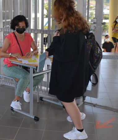 Environ 7 000 collégiens et lycéens ont retrouvé le chemin de leur établissement pendant la semaine de reprise.