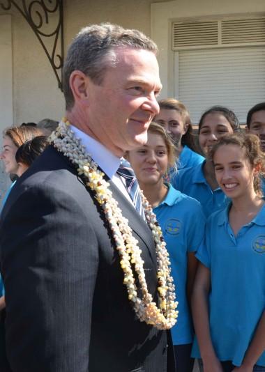Une section internationale australienne ouvrira au collège Georges-Baudoux à la rentrée 2016.