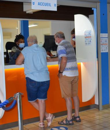 Le centre de vaccination Cafat Receiving prévoit de réaliser jusqu'à 400 vaccinations par jour.