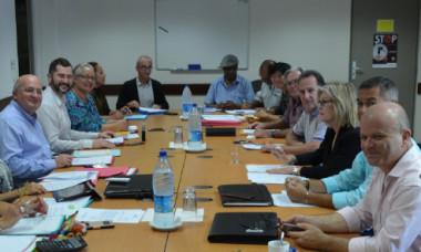 Le comité de gestion du Fonds intercommunal de péréquation est co-présidé par Yoann Lecourieux, chargé notamment du budget et des finances au gouvernement, et Laurent Cabrera, secrétaire général du haut-commissariat.