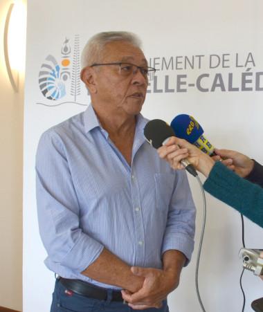 Yannick Slamet, porte-parole du gouvernement – fonction qu'il partage avec Gilbert Tyuienon – a animé le point presse à l'issue de la séance du 27 juillet.