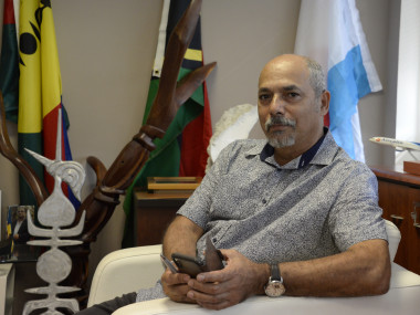 Gilbert Tyuienon a été élu vice-président du gouvernement (©LNC).
