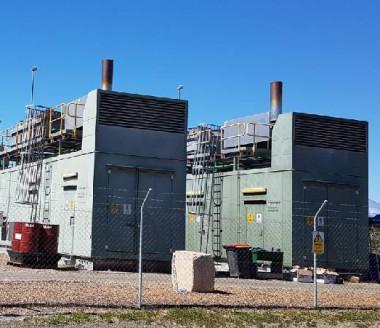 Un exemple de centrale biogaz exploitée en Australie, à Brisbane, par le groupe Veolia (© Veolia).