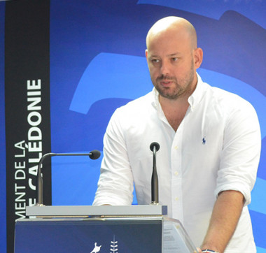 Christopher Gygès, l'un des porte-parole du gouvernement, a animé le point presse après la réunion hebdomadaire du gouvernement.