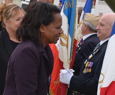 Hélène Iékawé a salué les anciens combattants.