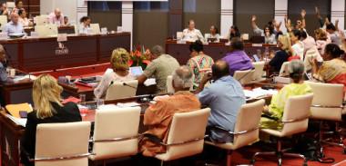 Le budget supplémentaire 2019 a été soumis au vote des élus du Congrès de la Nouvelle-Calédonie.