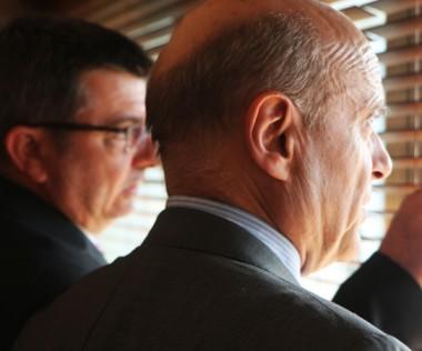 Alain Juppé et Dominique Perben reçus par le président du gouvernement