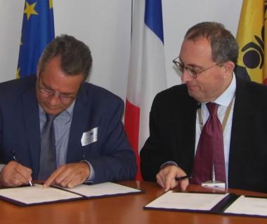 La signature de la convention de financement du 11e FED a eu lieu à Bruxelles.