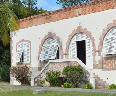 L'ancien hôtel du commandant abrite la direction du Creipac.