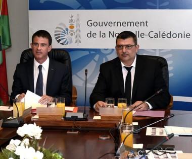 Le gouvernement reçoit Manuel Valls