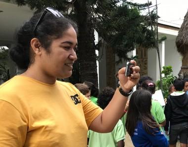 """Un """"micro-trottoir"""" était organisé en vue de la Journée mondiale de la diversité culturelle."""
