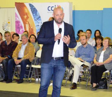 « Il nous faut retrouver l'esprit pionnier de la Nouvelle-Calédonie », a indiqué Christopher Gygès.