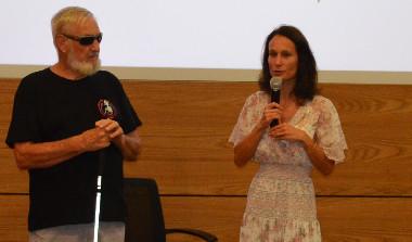 « Il faut partager notre expérience avec celles des autres pays et territoires de la région », a déclaré Isabelle Champmoreau aux côtés de Richard Fournier, président du Collectif Handicaps.