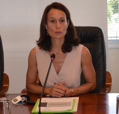 Isabelle Champmoreau, en charge de l'enseignement au gouvernement, et Érick Roser, vice-recteur, directeur général des enseignements, ont présenté les grandes lignes de la rentrée scolaire 2020.