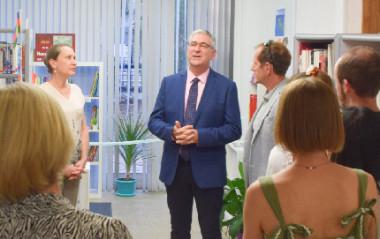 L'inauguration officielle de l'espace francophone culturel et éducatif dédié à la Nouvelle-Calédonie, au sein de l'Alliance française de Canberra, en Australie, s'est déroulée le 27 février.