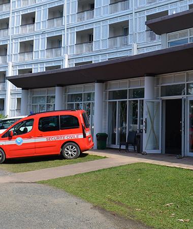 Une capacité de 500 chambres d'hôtel est disponible sur Nouméa pour les personnes atteintes du Covid-19.