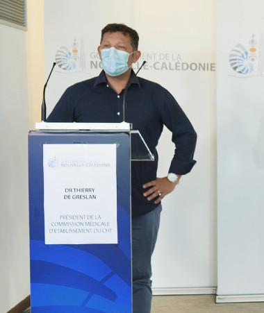 « Avec le recul, on peut dire que c'est un vaccin fiable et durable », a signalé le Dr Thierry De Greslan qui est intervenu auprès de Christopher Gygès.
