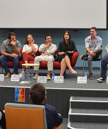 La conférence-débat « Être jeune et entreprendre en Nouvelle-Calédonie » s'est tenue le 23 juin à la CCI, membre du comité 3E.