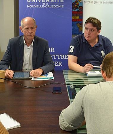 Le vice-rectorat et l'Université de la Nouvelle-Calédonie ont présenté les nouveautés de l'événement.