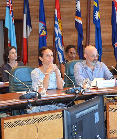 Isabelle Champmoreau, vice-présidente du gouvernement chargée de l'égalité des genres, a assisté à l'ouverture du Nouméa Women's Forum et à la restitution des ateliers.
