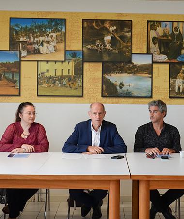 Le vice-recteur Érick Roser a lancé le 4 mars de nouvelles actions dans le cadre de l'enseignement de l'histoire-géographie de la Nouvelle-Calédonie.
