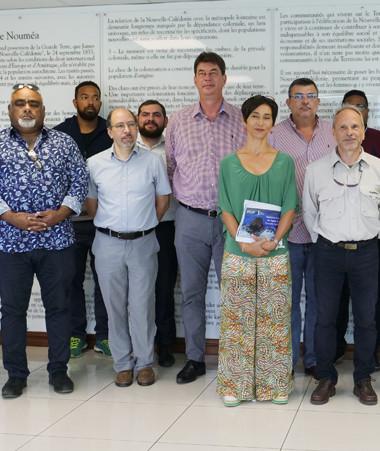 Une partie des porteurs de projet lauréats de Territoires d'innovation étaient réunis au gouvernement le 5 août.