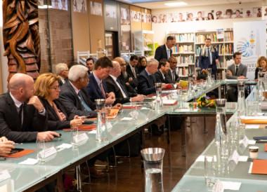 La Maison de la Nouvelle-Calédonie a accueilli la séquence économique et sociale la veille du 19e Comité des signataires (© Photos Maison de la Nouvelle-Calédonie).