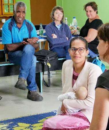« À Lifou, les rencontres ont été vivantes, faites d'échanges et de mises en situation à la fois drôles et criantes de vérité », a indiqué Estelle Poncet, chef du projet 1 000 premiers jours de vie et coordinatrice de cette semaine.