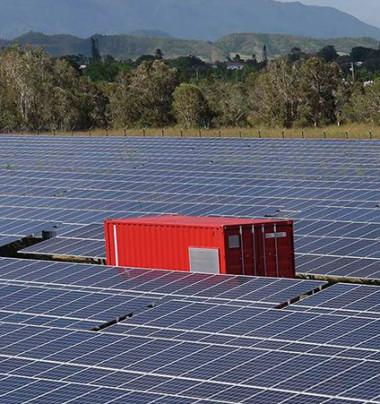 20 MWc supplémentaires pour le seul photovoltaïque sur terres coutumières.