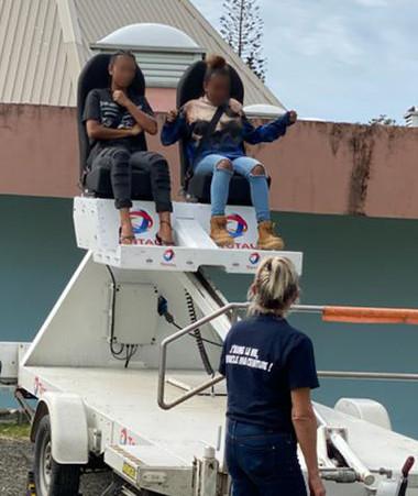 L'association Prévention routière Nouvelle-Calédonie va développer ses actions hors du Grand Nouméa comme ici à Touho (© photos association Prévention routière NC).