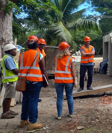 Le chantier de l'Université nationale du Vanuatu bat son plein. Elle est financée par l'AFD, le gouvernement du Vanuatu et celui de la Nouvelle-Calédonie notamment dans le cadre de la convention tripartite.