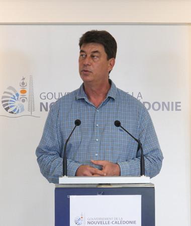 Le président du gouvernement s'est adressé aux Calédoniens jeudi 11 juin.