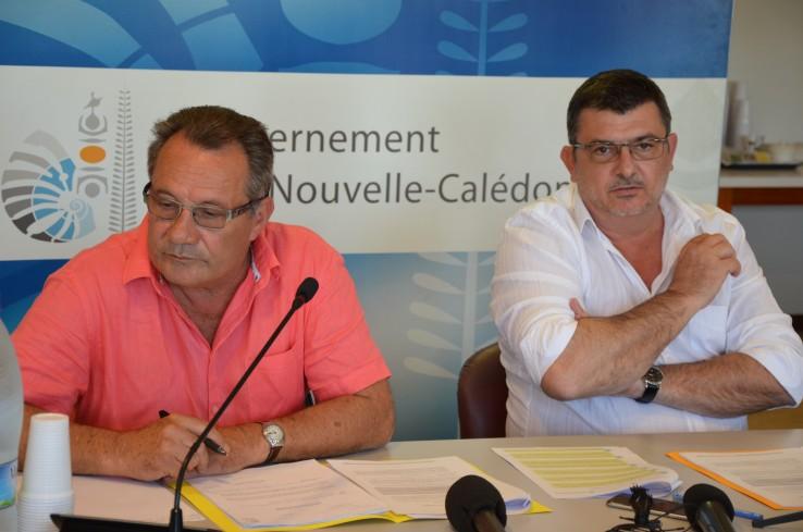 Jean-Louis d'Anglebermes et Philippe Germain ont présenté les mesures du plan Pulse le 12 septembre.